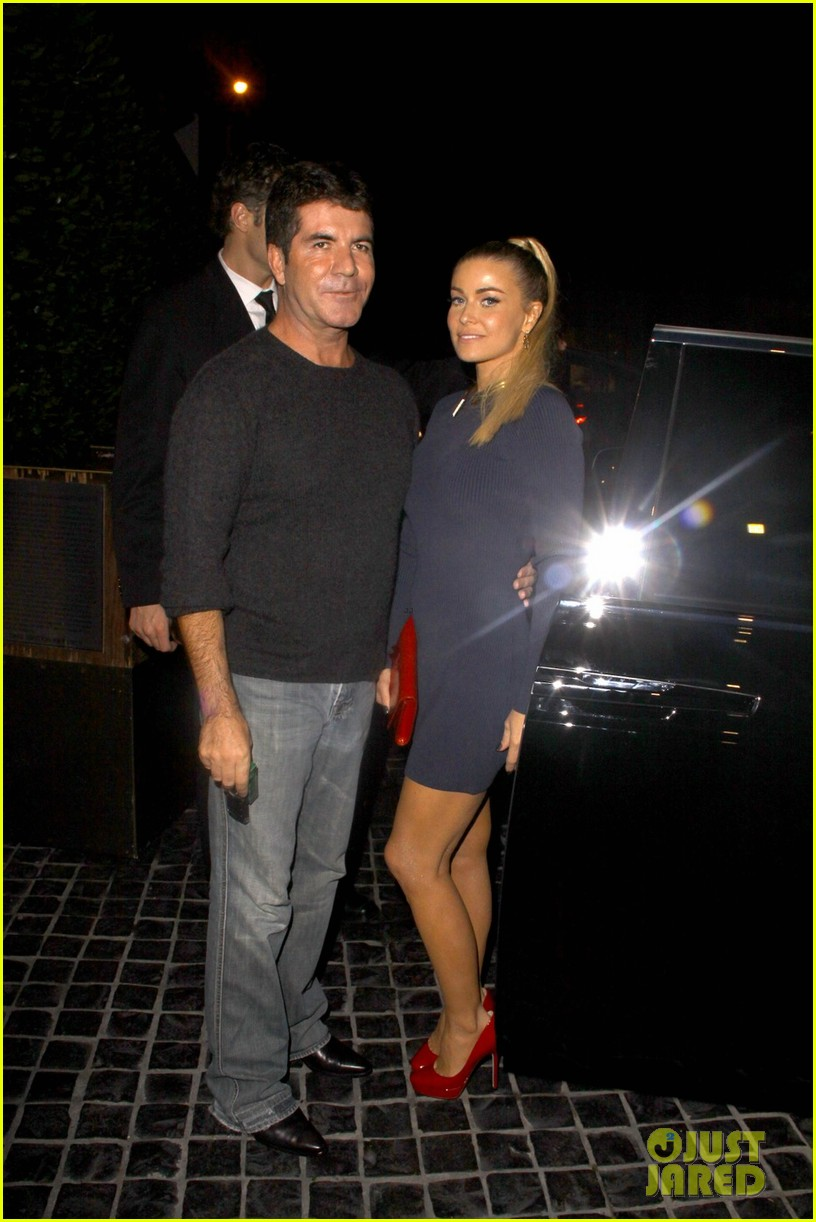 simon cowell dinner date with carmen electra 012727818