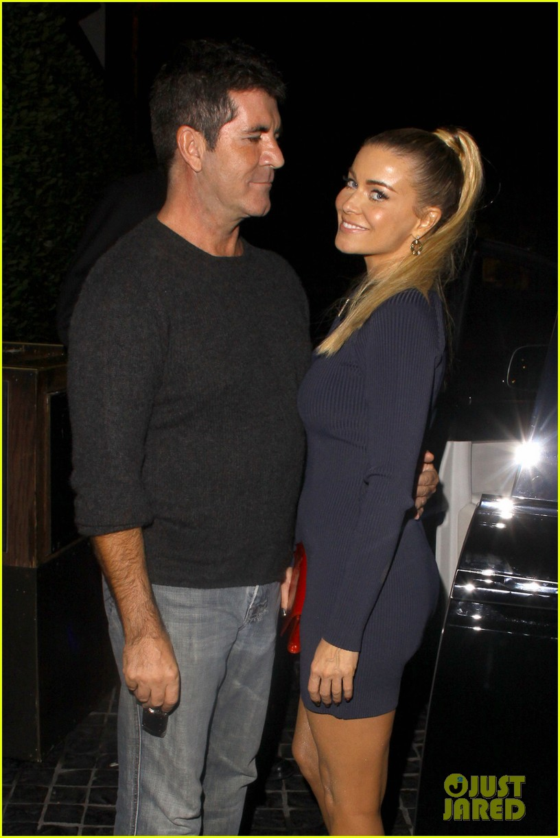 simon cowell dinner date with carmen electra 05