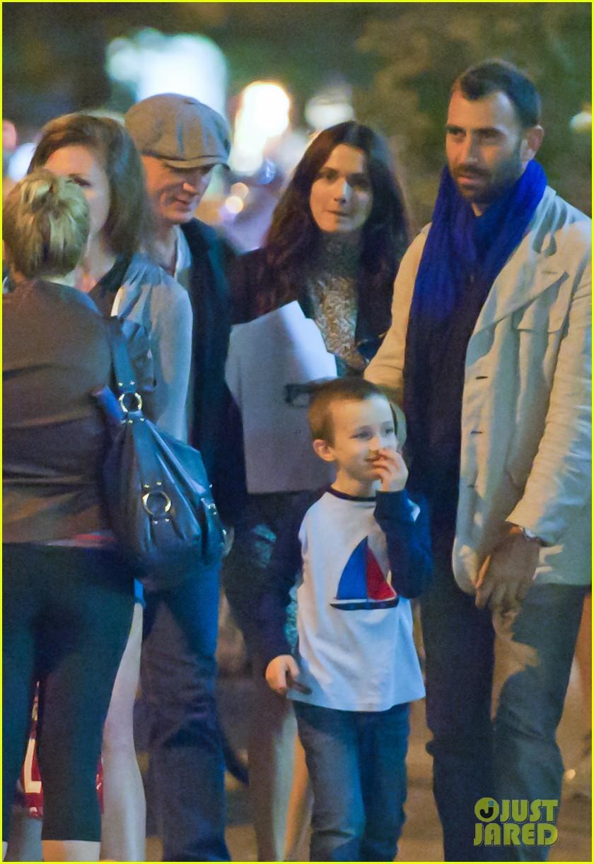 Дэниэл Крейг с семьей