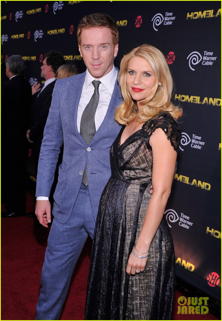 claire danes homeland premiere with damian lewis 122716823