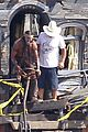 johnny depp armie hammer lone ranger set 09