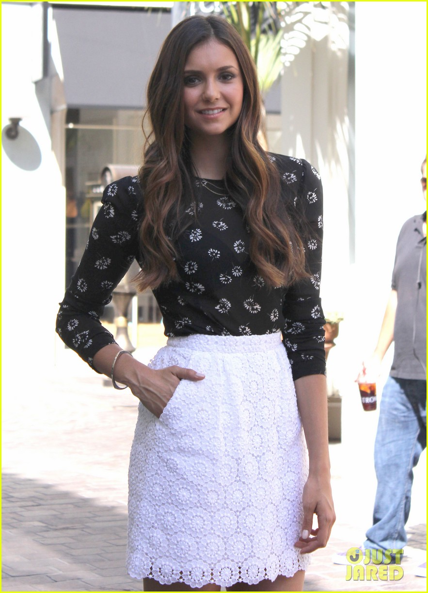 nina dobrev extra grove appearance 13