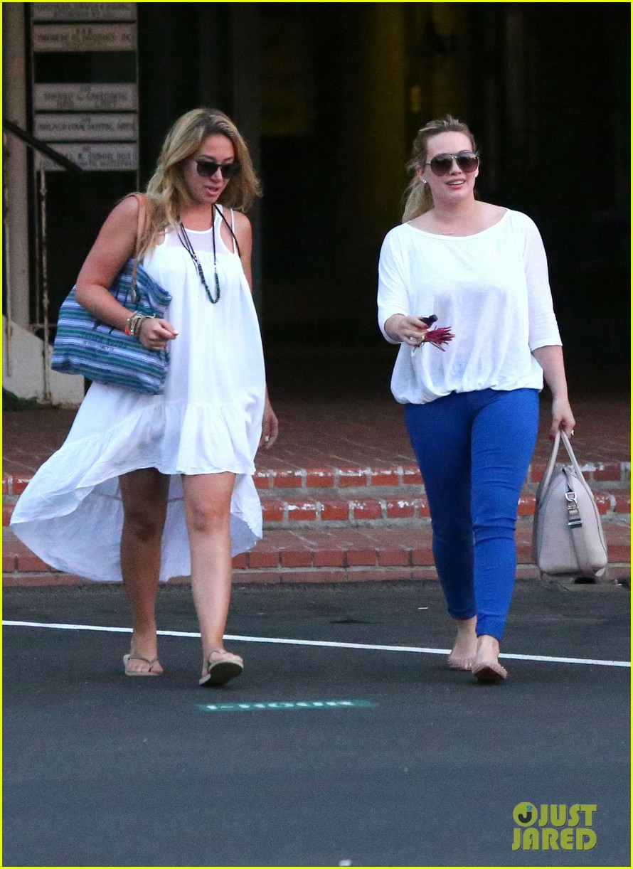 hilary duff palos verdes with haylie 04