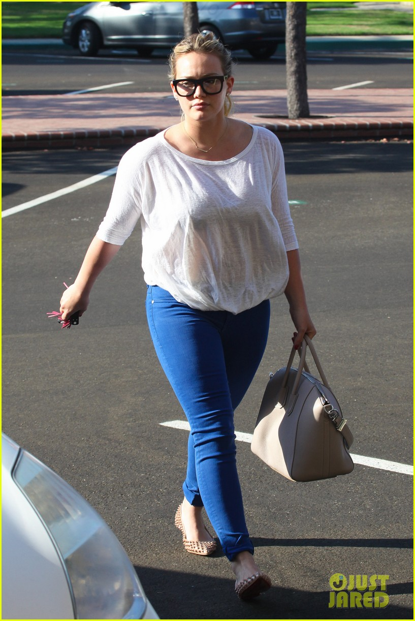 hilary duff palos verdes with haylie 08