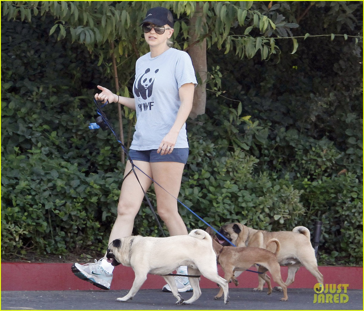 anna faris chris pratt strolling with baby jack 29