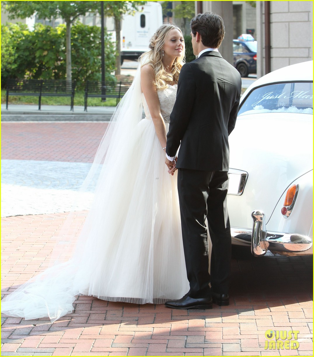 justin gaston weds melissa ordway first wedding pictures 23