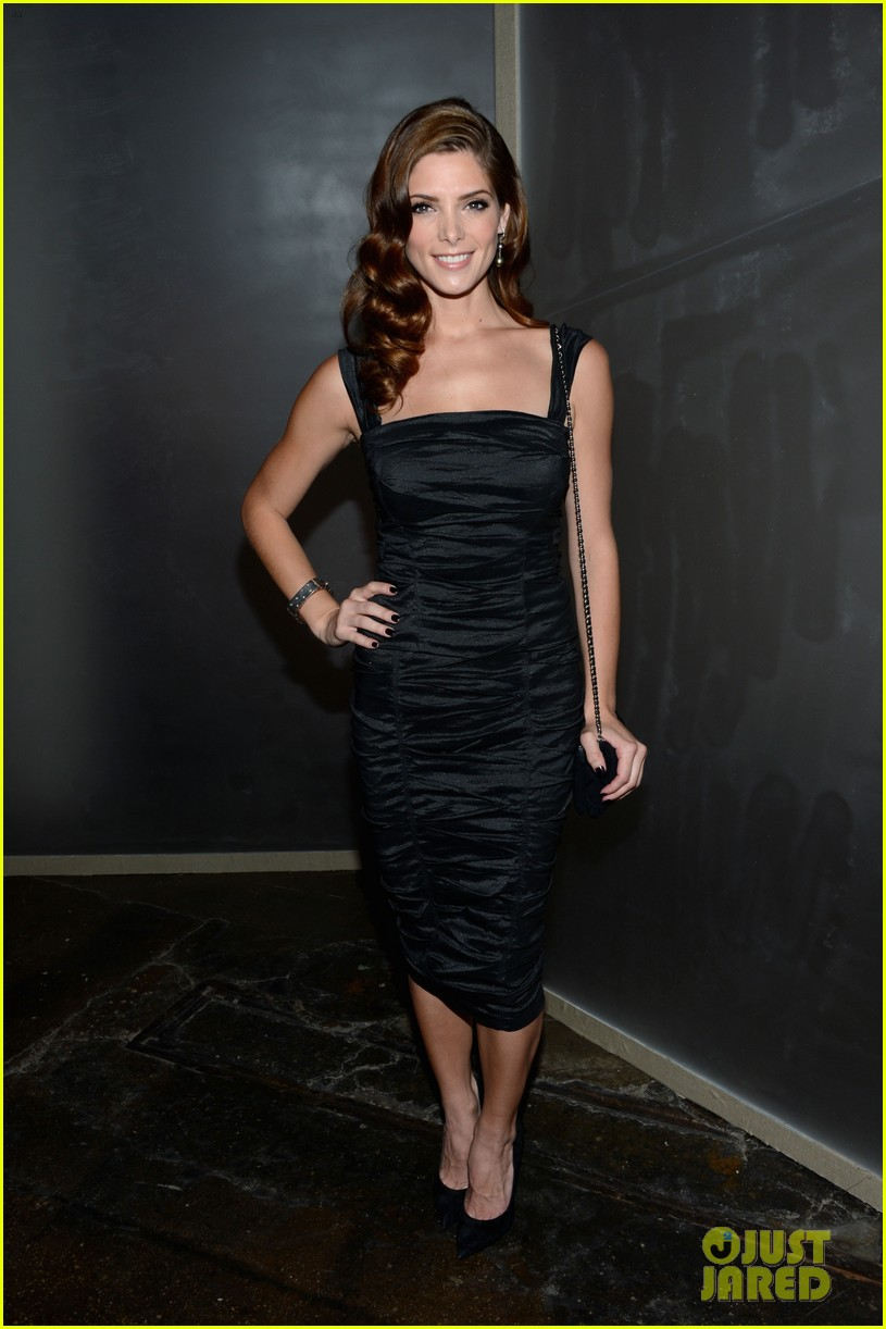 ashley greene rachael taylor donna karan show 01