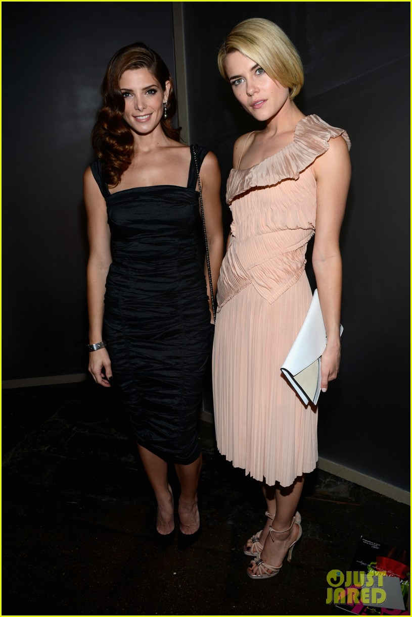 ashley greene rachael taylor donna karan show 03