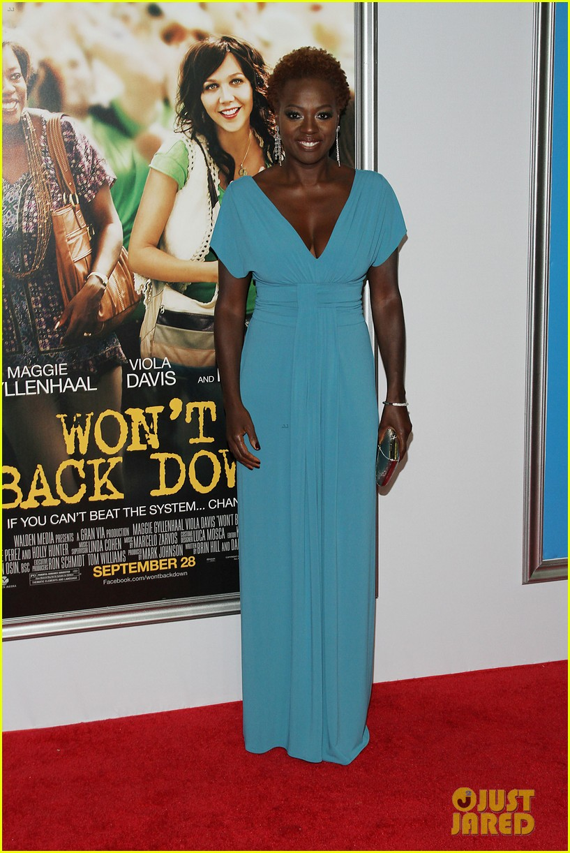 maggie gyllenhaal viola davis wont back down premiere 09