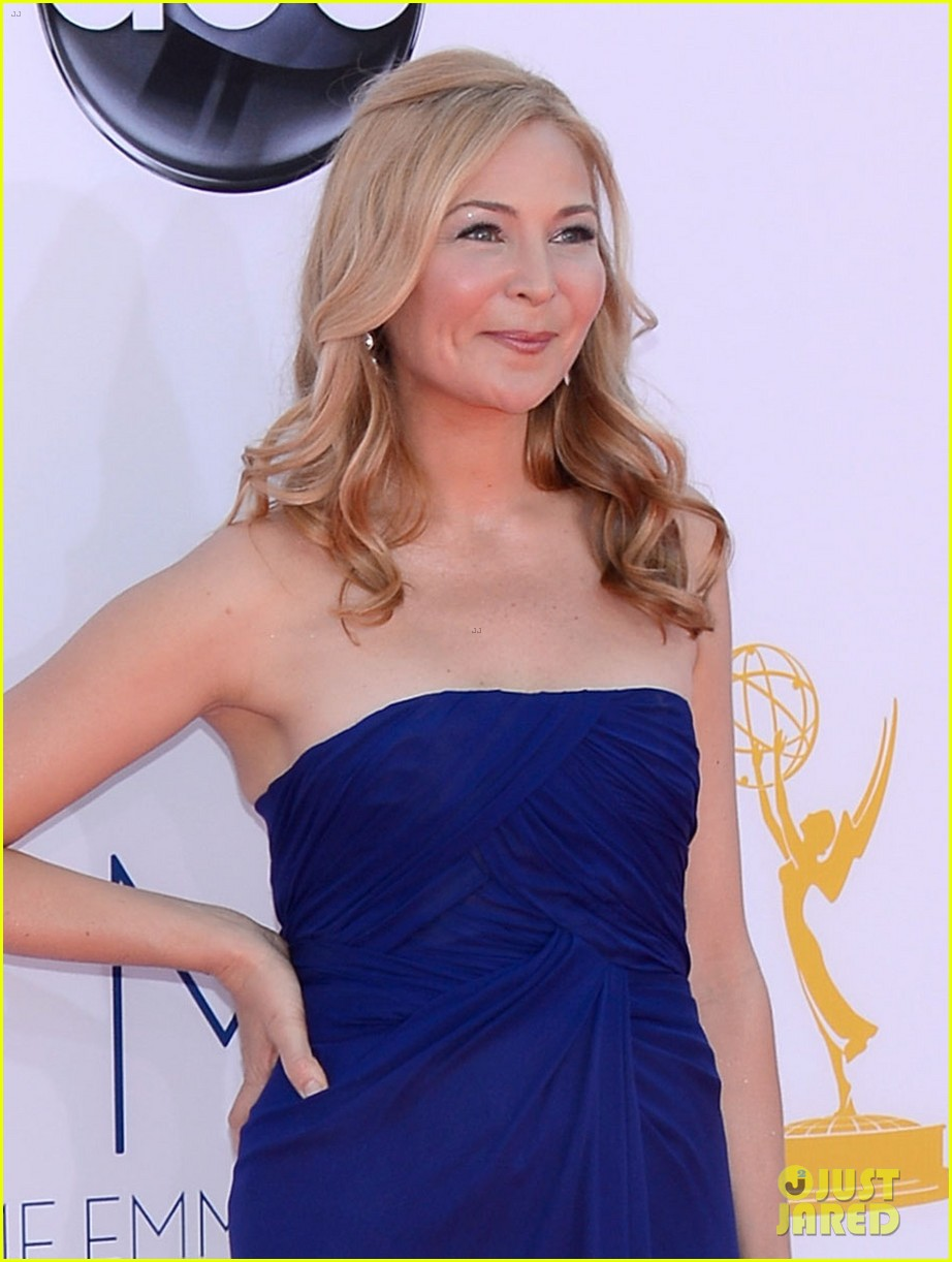 jon hamm jennifer westfeldt emmys 2012 red carpet 042727185
