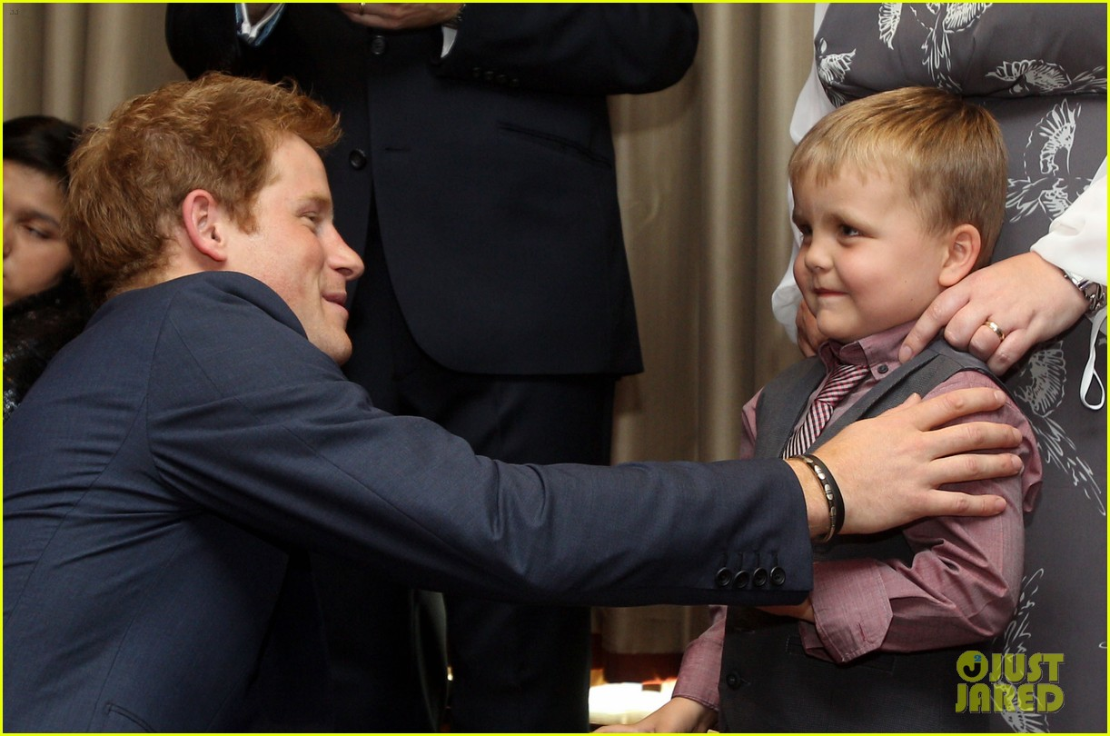 prince harry first post nude pictures scandal appearance 092713449