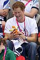 prince harry paralympics swimming spectator 32