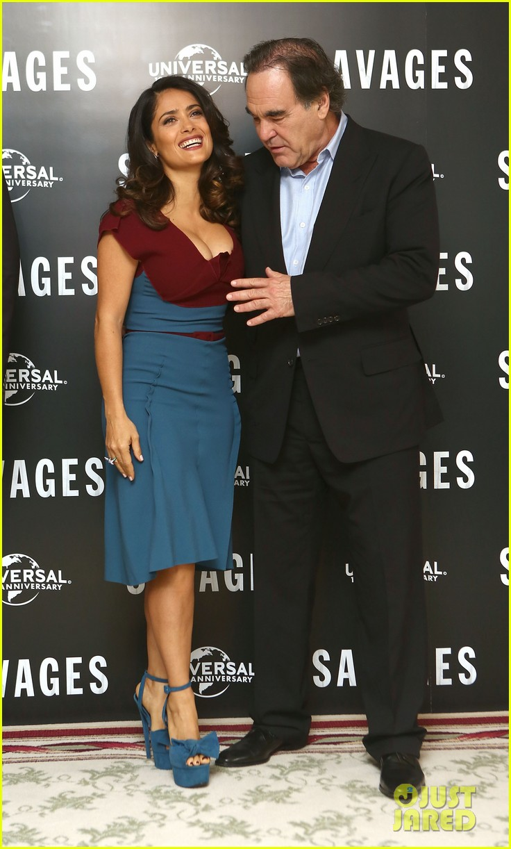 salma hayek savages photo call london 12