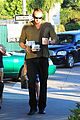 heidi klum starbucks run with kids 10