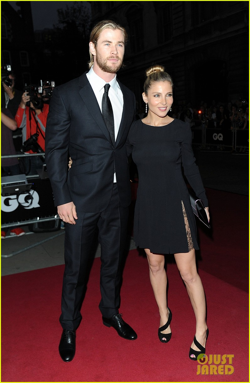 chris hemsworth elsa pataky gq men of the year awards 01