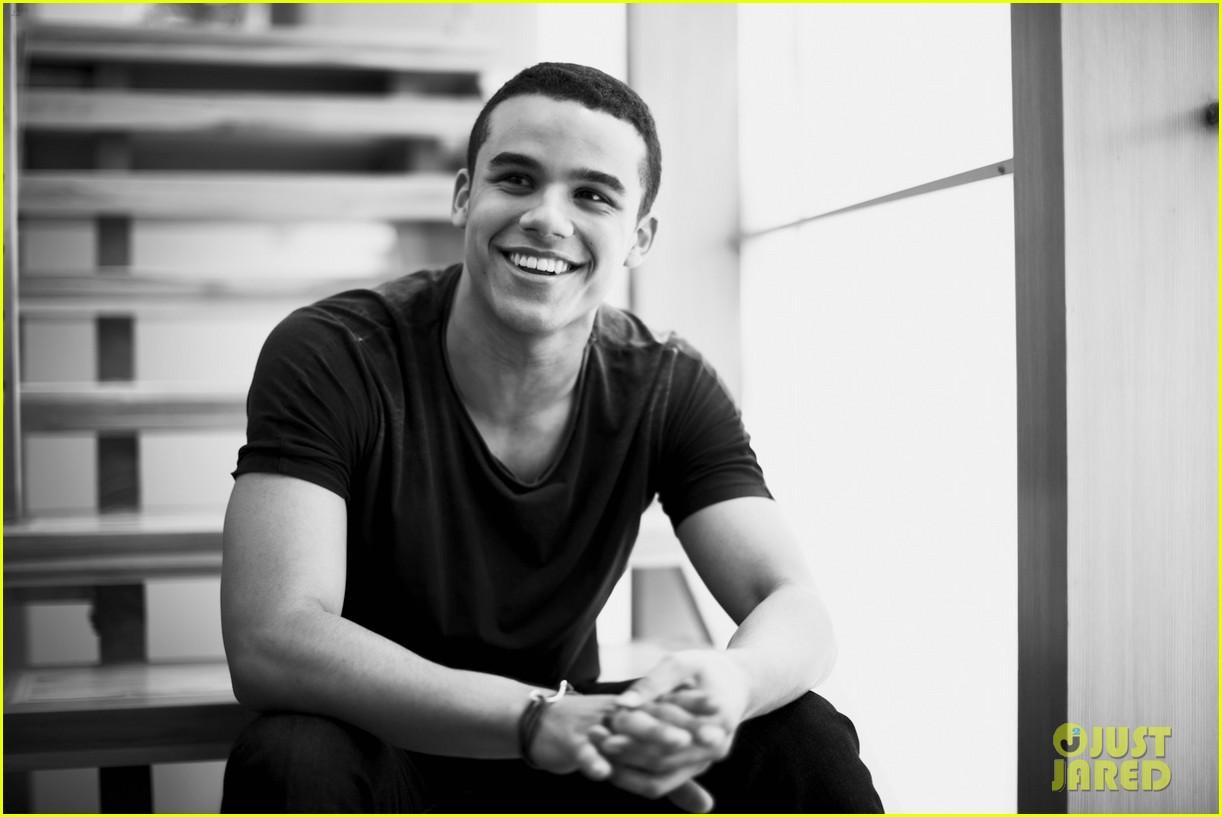 Glee's Jacob Artist Photo Shoot - JustJared.com Exclusive ...
