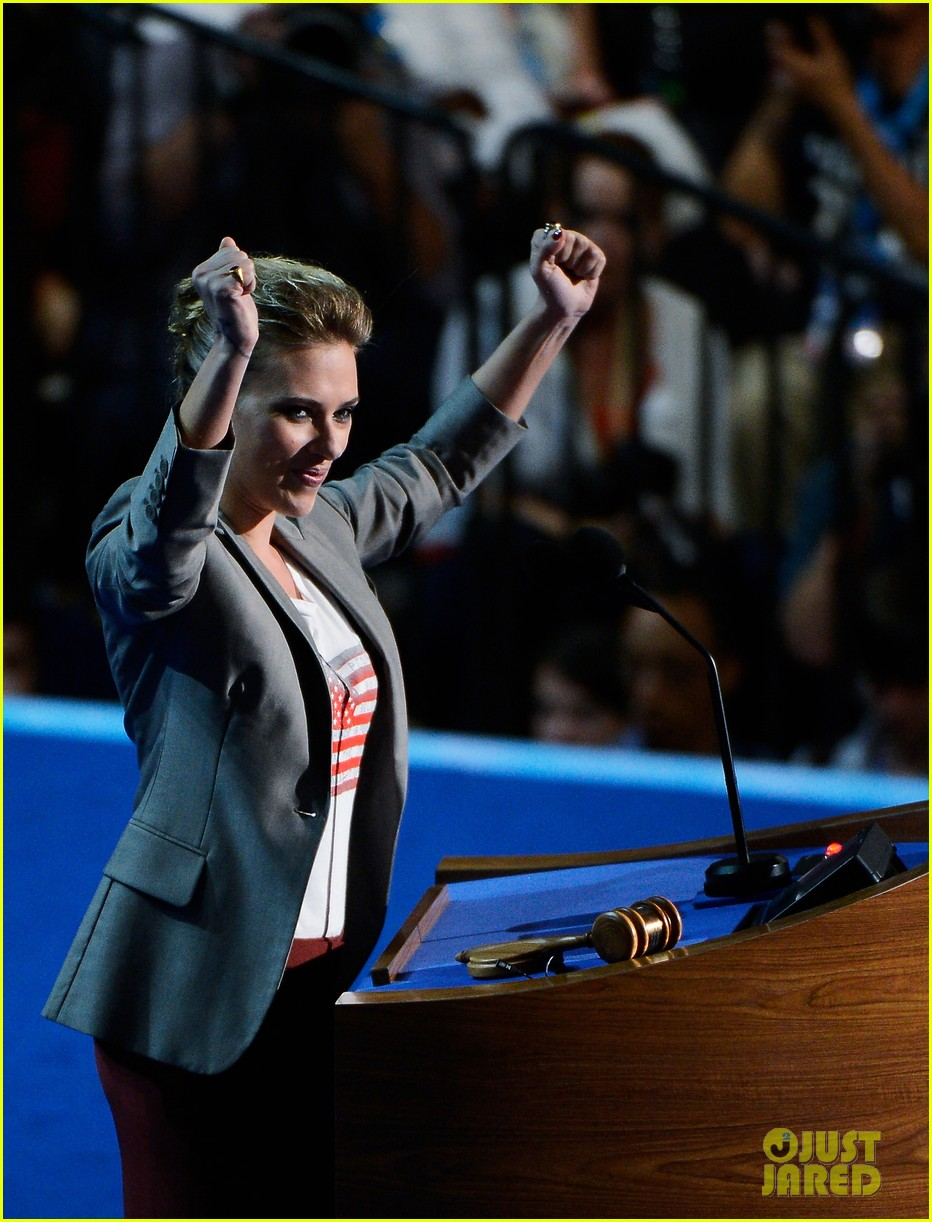 scarlett johansson speech democratic national convention 16