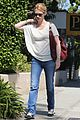 january jones runs errands santa monica 10