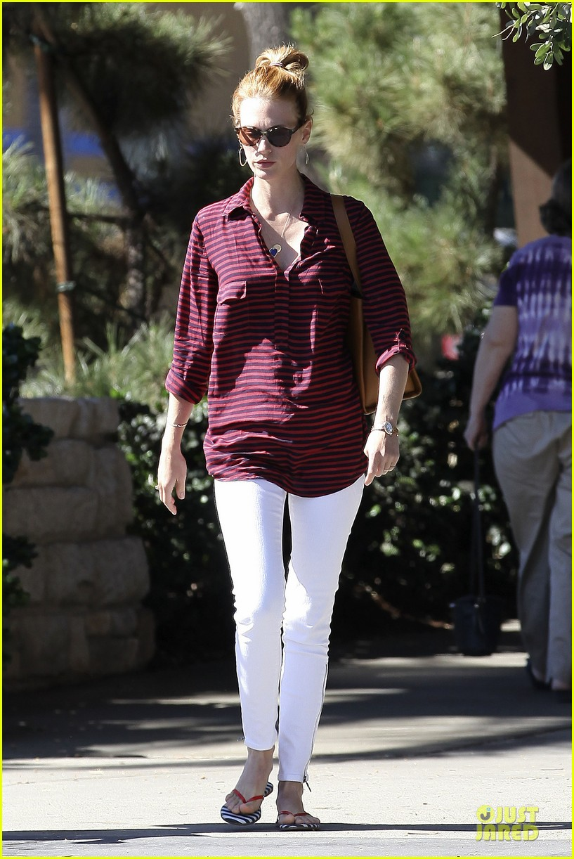 january jones striped pasadena 12