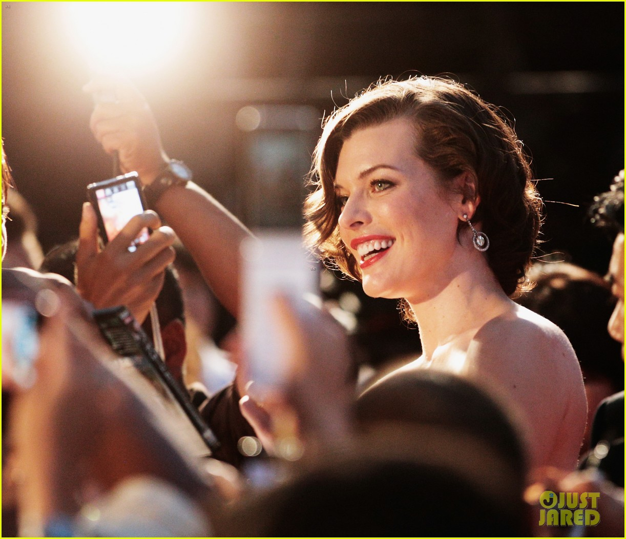 milla jovovich resident evil retribution japan premiere 082713409