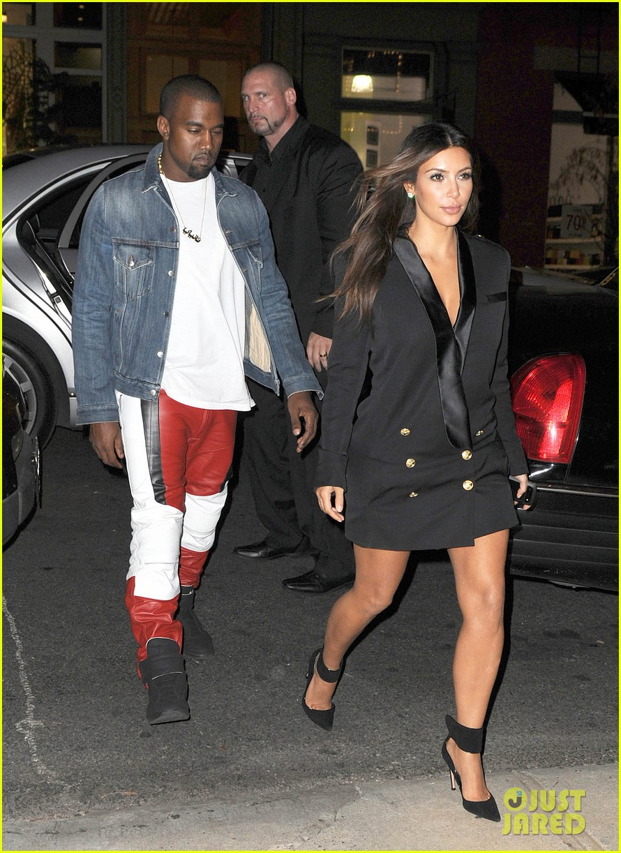 kim kardashian kanye west ice cream cone couple 21