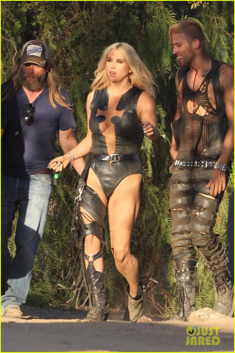 kesha music video shoot 05