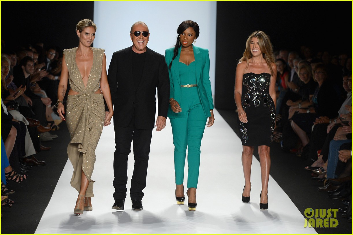 heidi klum jennifer hudson project runway fashion week 12