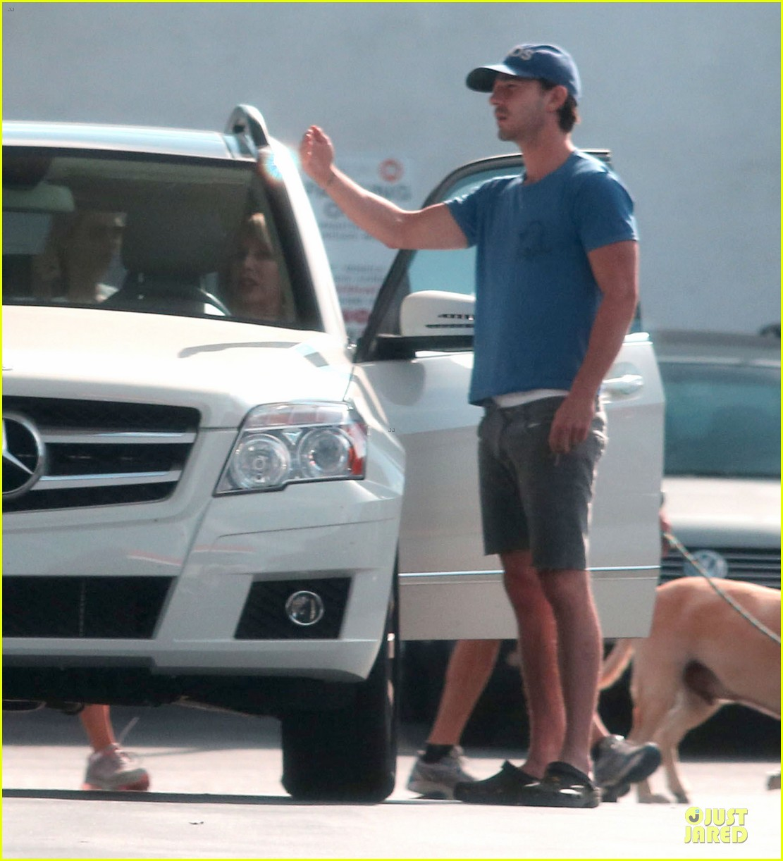 shia labeouf human gps in sherman oaks 172730870