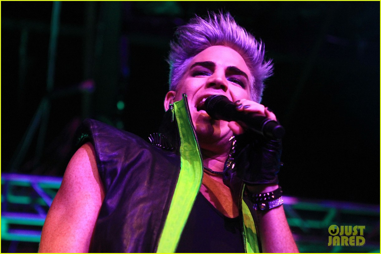 adam lambert matinee labor day performance 17