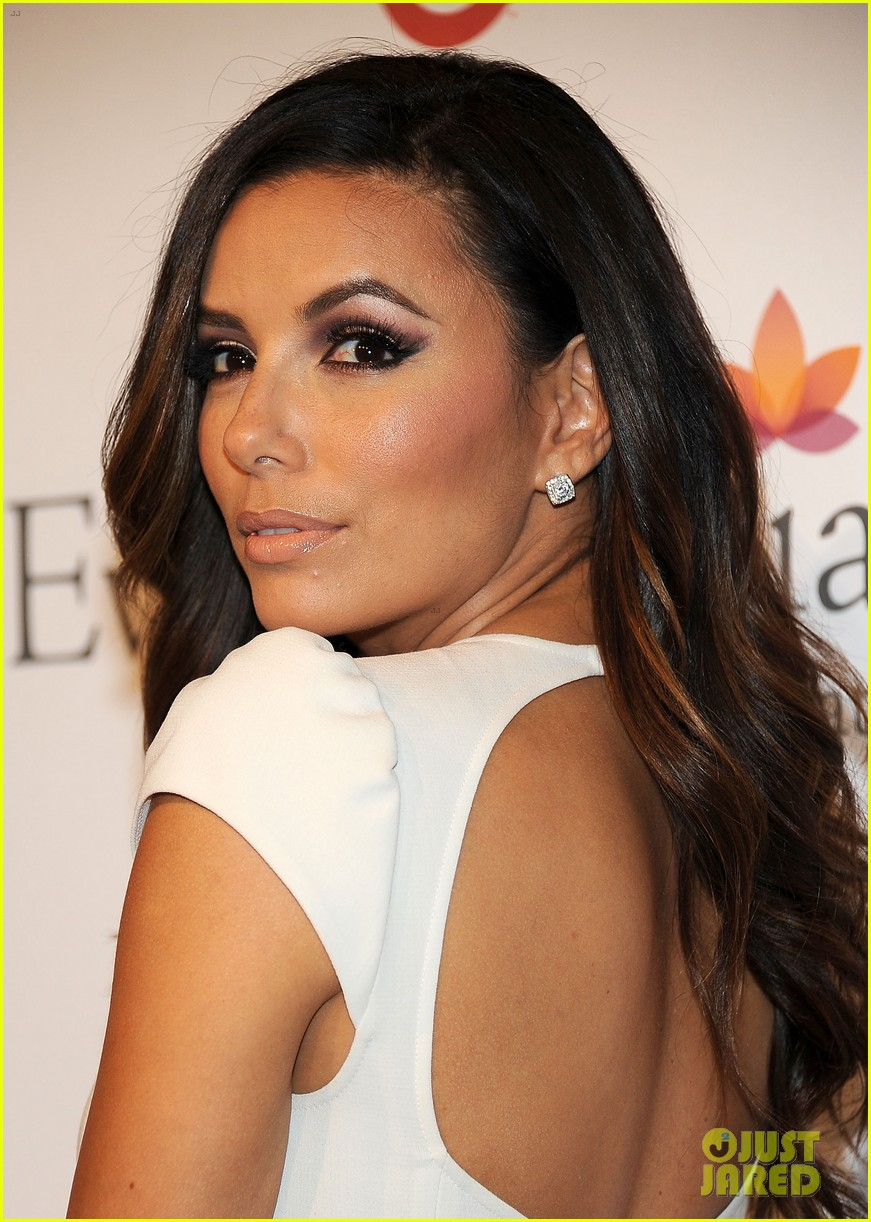eva longoria pre alma awards charity dinner 17