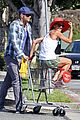 kellan lutz shopping cart ride for sharni vinson 07