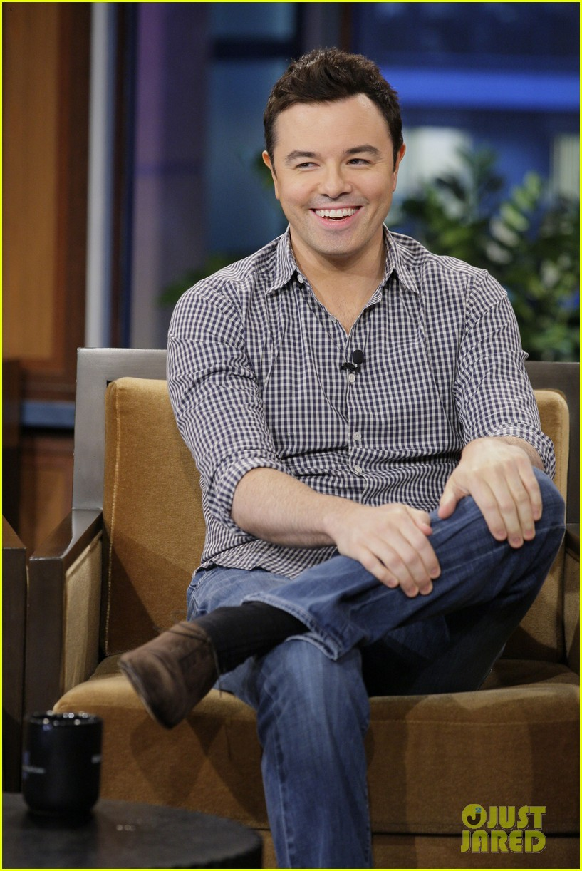 seth macfarlane tonight show with jay leno appearance 022728695