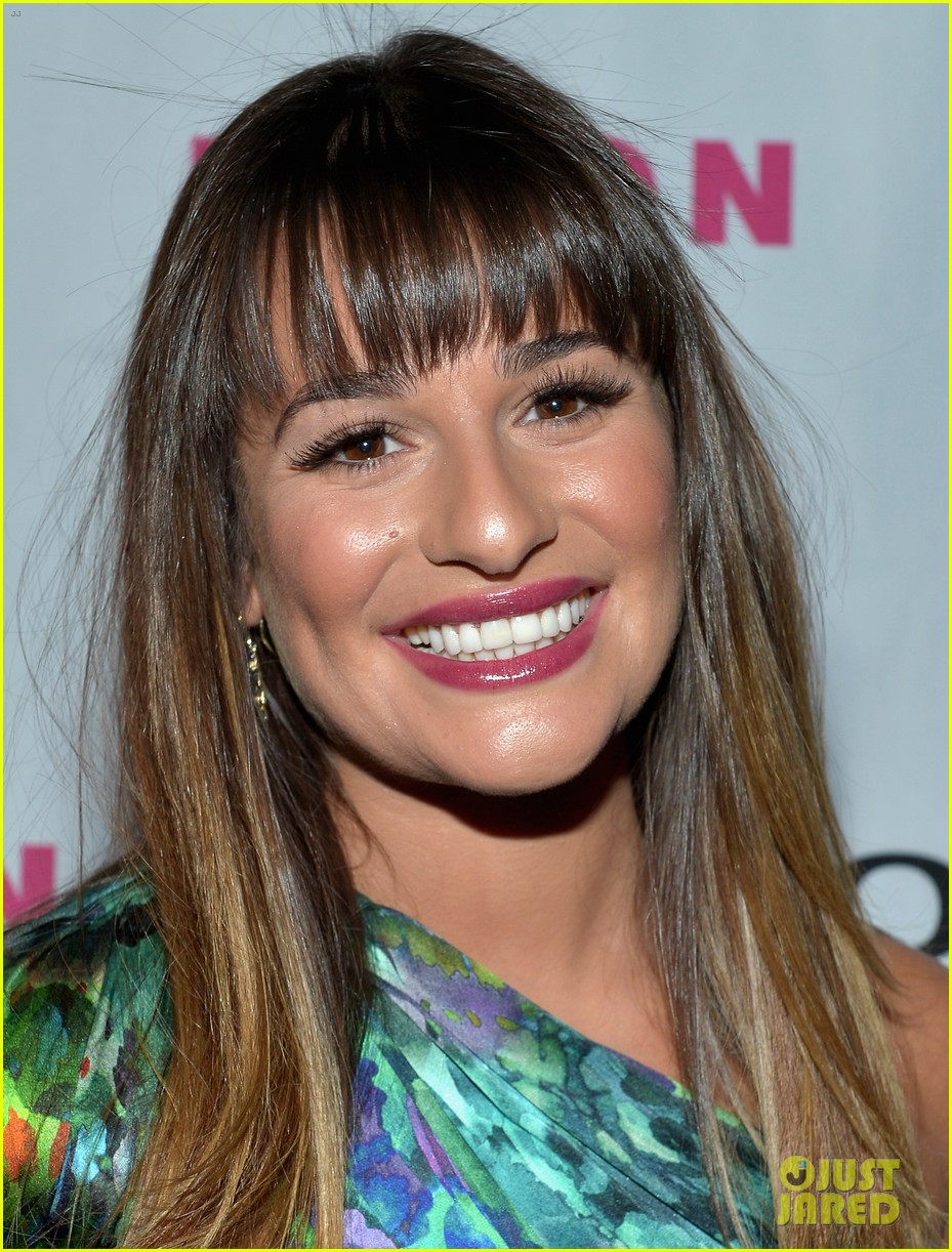 lea michele nylon september tv issue launch party 02