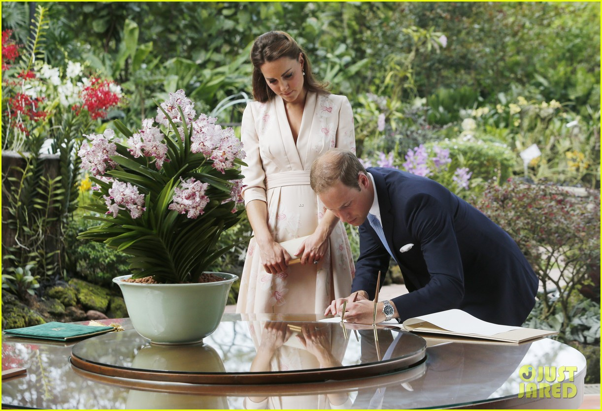 prince william duchess kate singapore botanical gardens 08