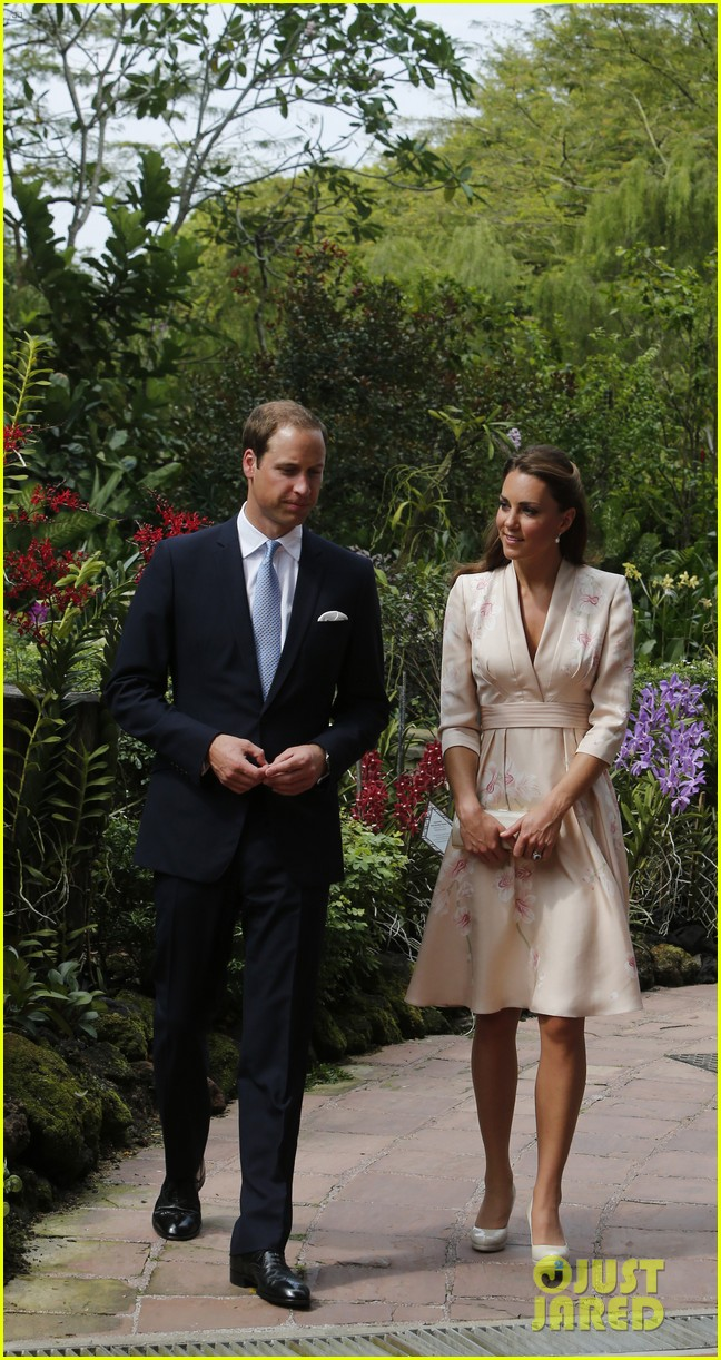 prince william duchess kate singapore botanical gardens 09
