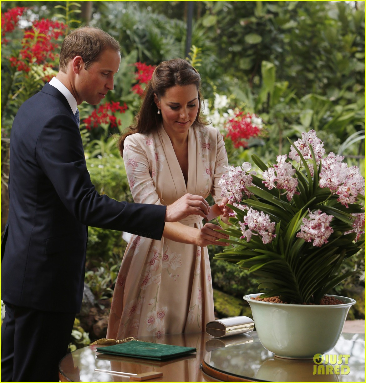 prince william duchess kate singapore botanical gardens 10