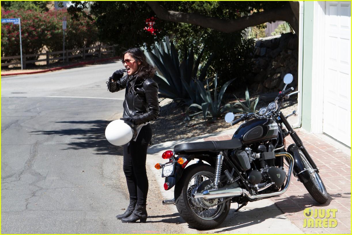 olivia munn biker babe 10
