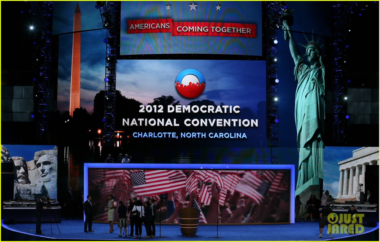 michelle obama preps democratic national convention in charlotte kal penn 14