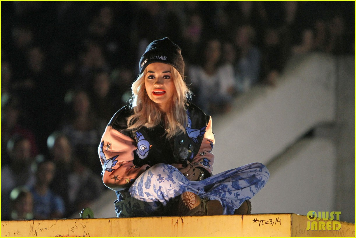 rita ora shine ya light video shoot in kosovo 01