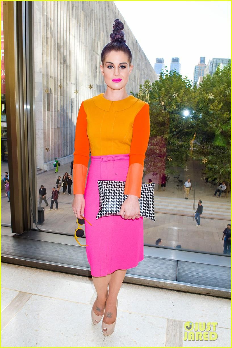 kelly osbourne hailee steinfeld chris benz fashion show 14