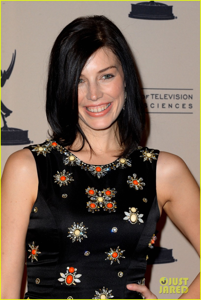 jessica pare michelle dockery atas emmy awards reception 102725693