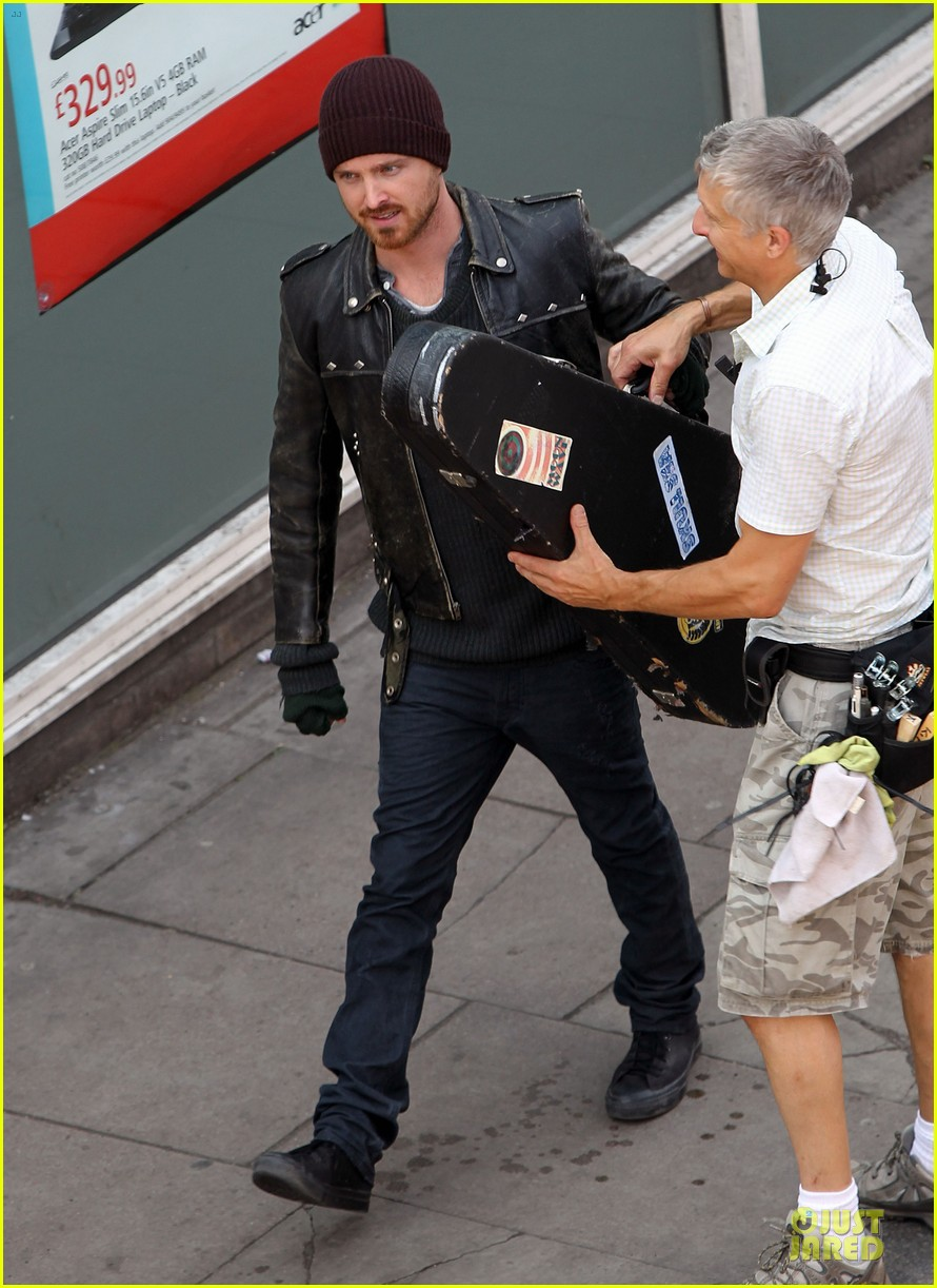 aaron paul a long way down filming 01