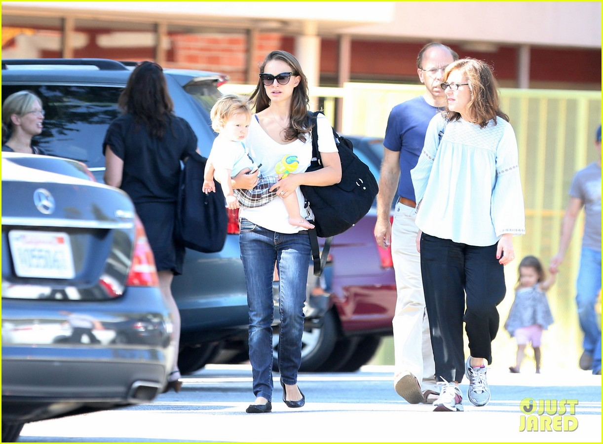 natalie portman quality time with aleph 25
