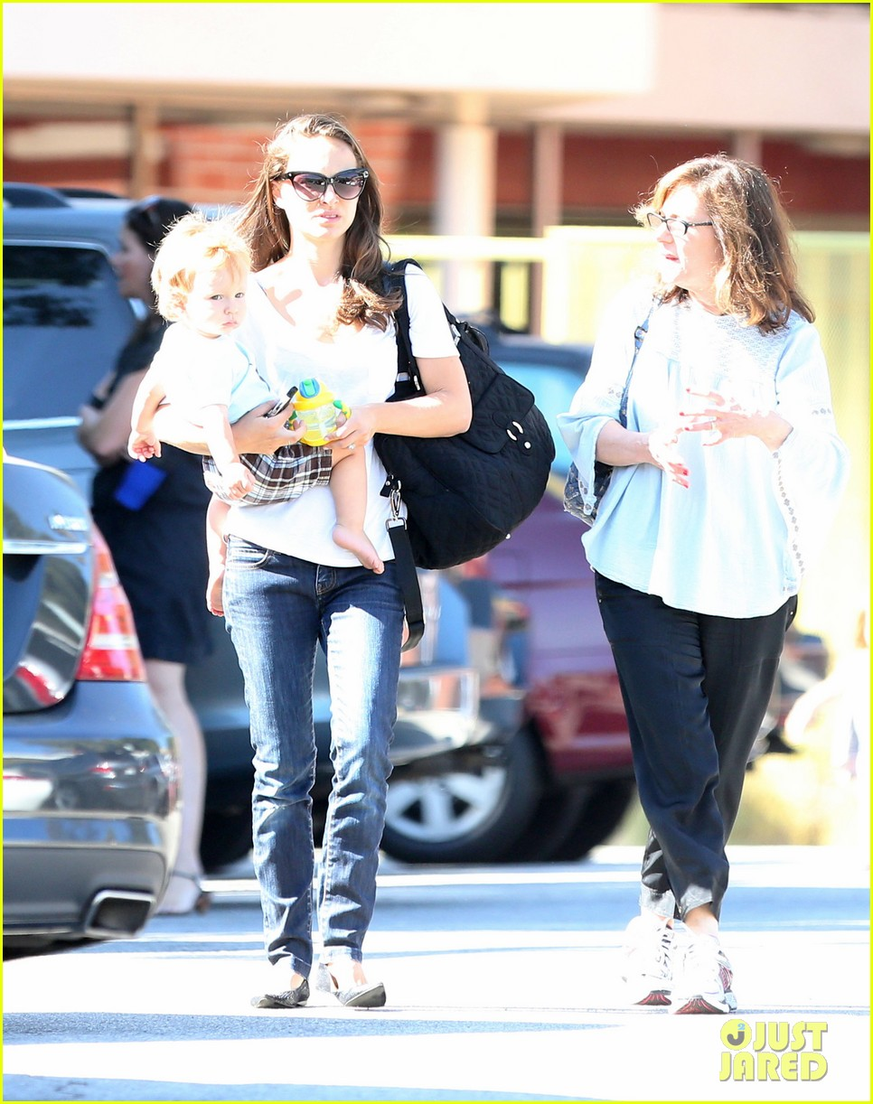 natalie portman quality time with aleph 26
