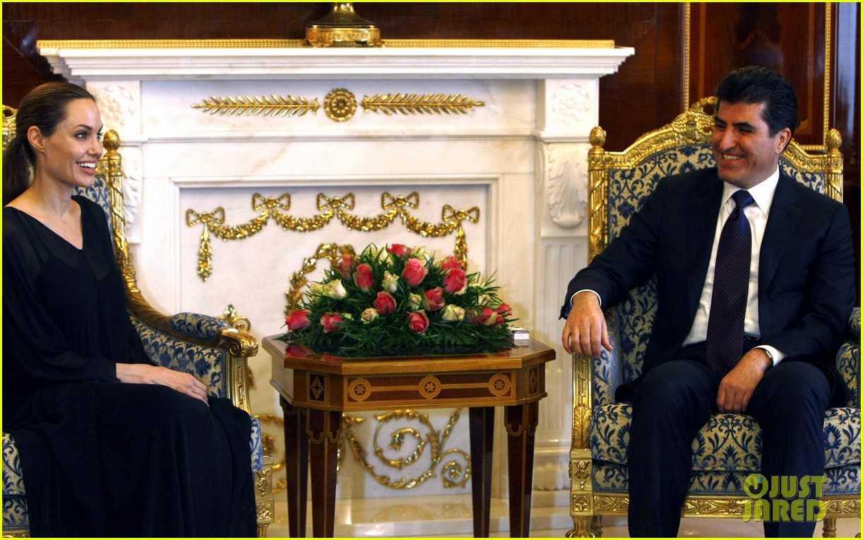 angelina jolie iraqi prime minister 032723381