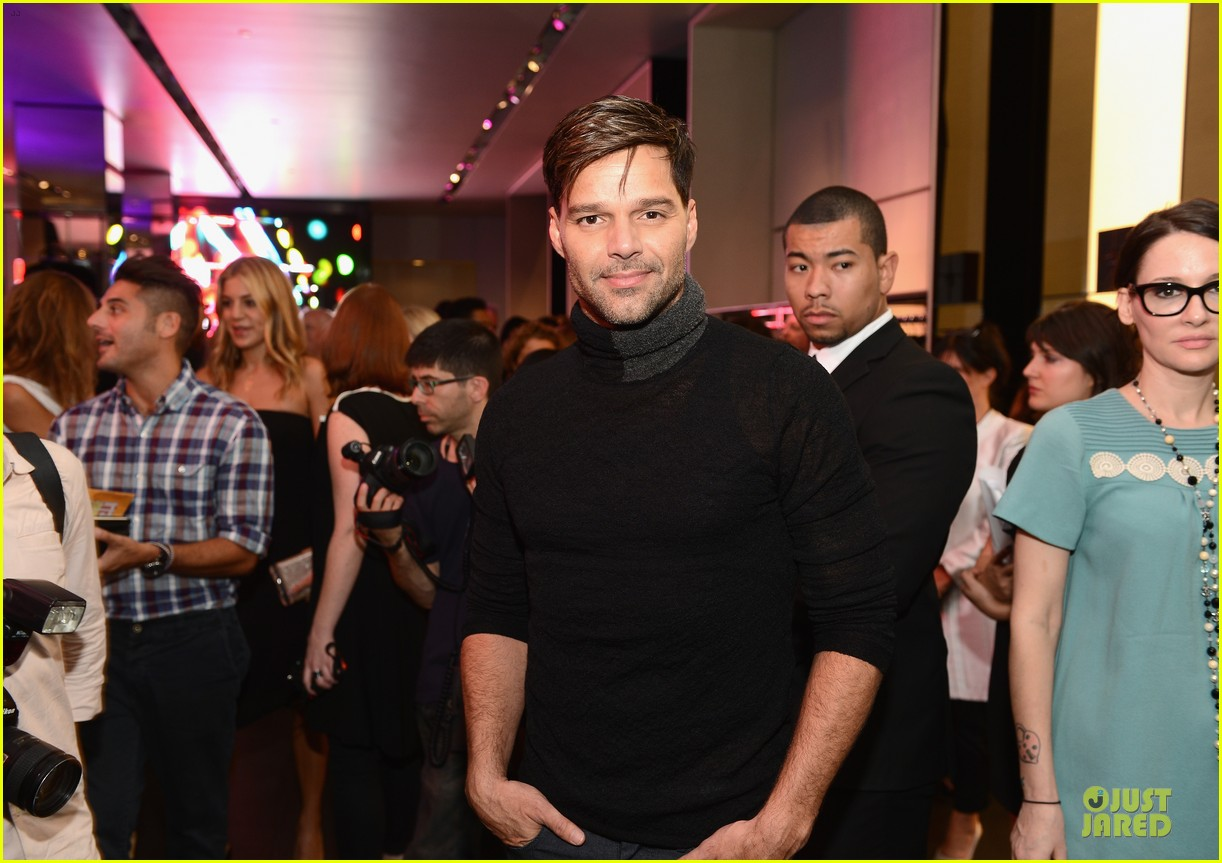 ricky martin emile de ravin emporio flagship opening 05