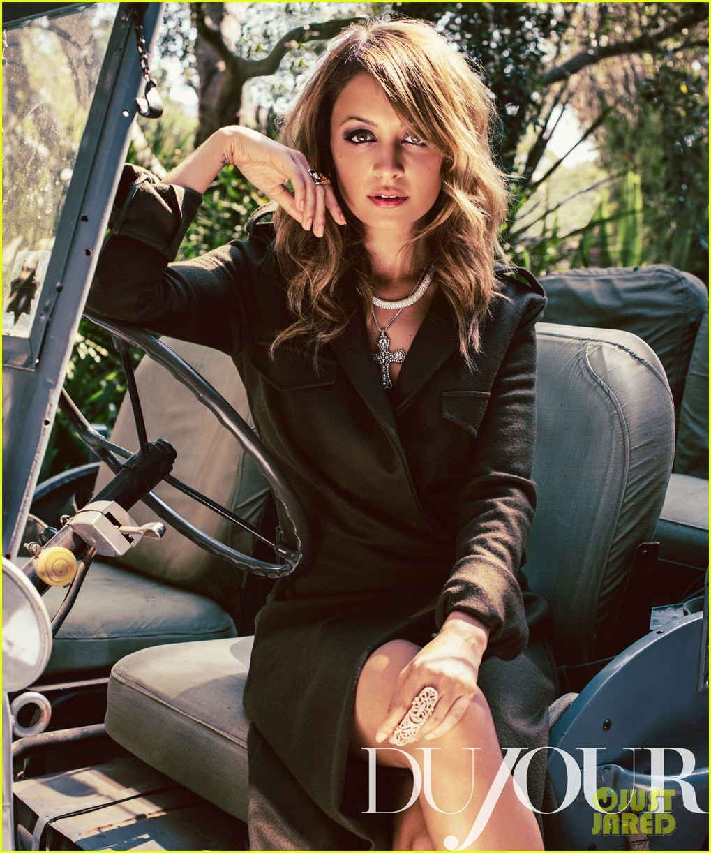 nicole richie covers dujour october 2012 032725673