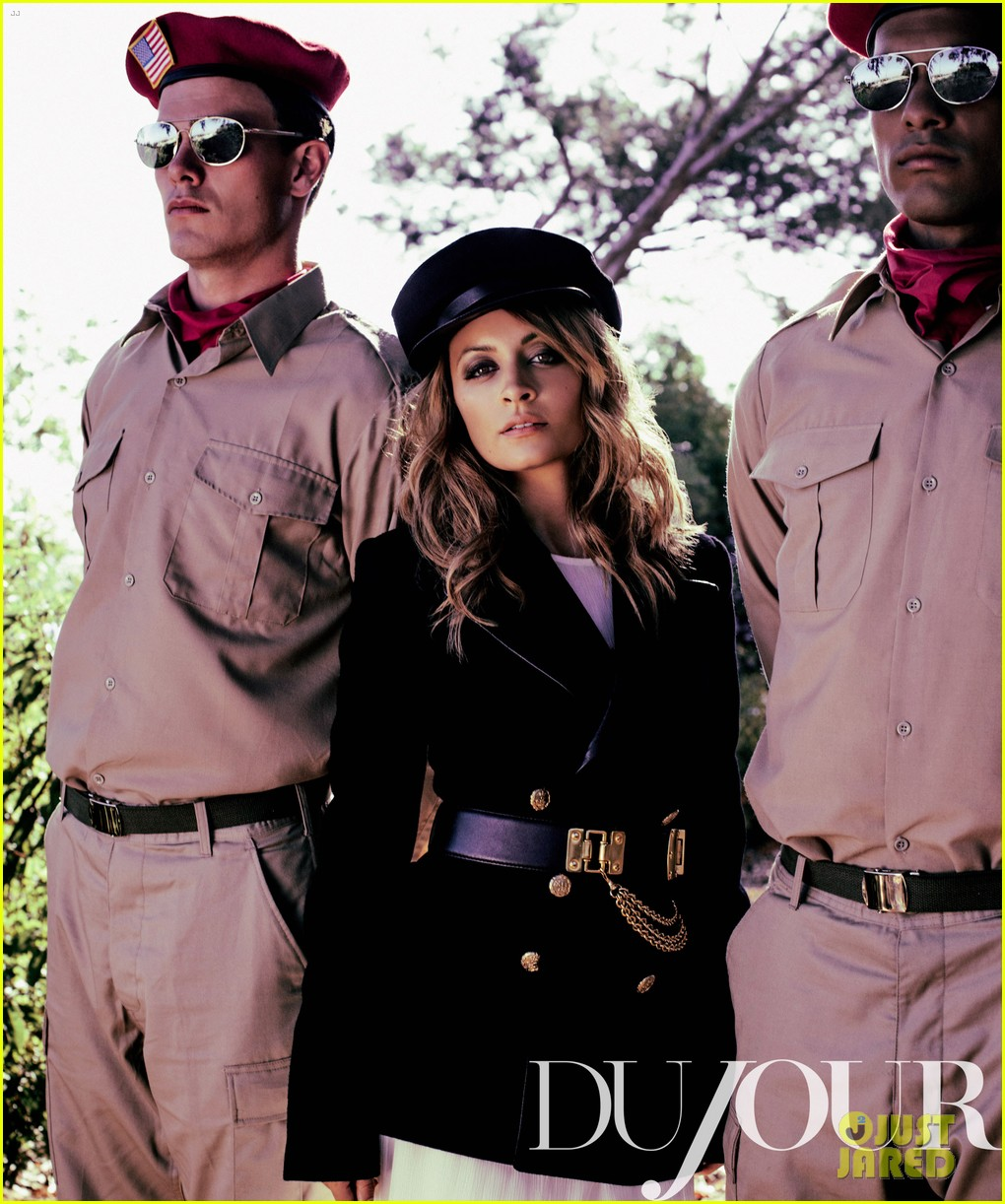 nicole richie covers dujour october 2012 052725675
