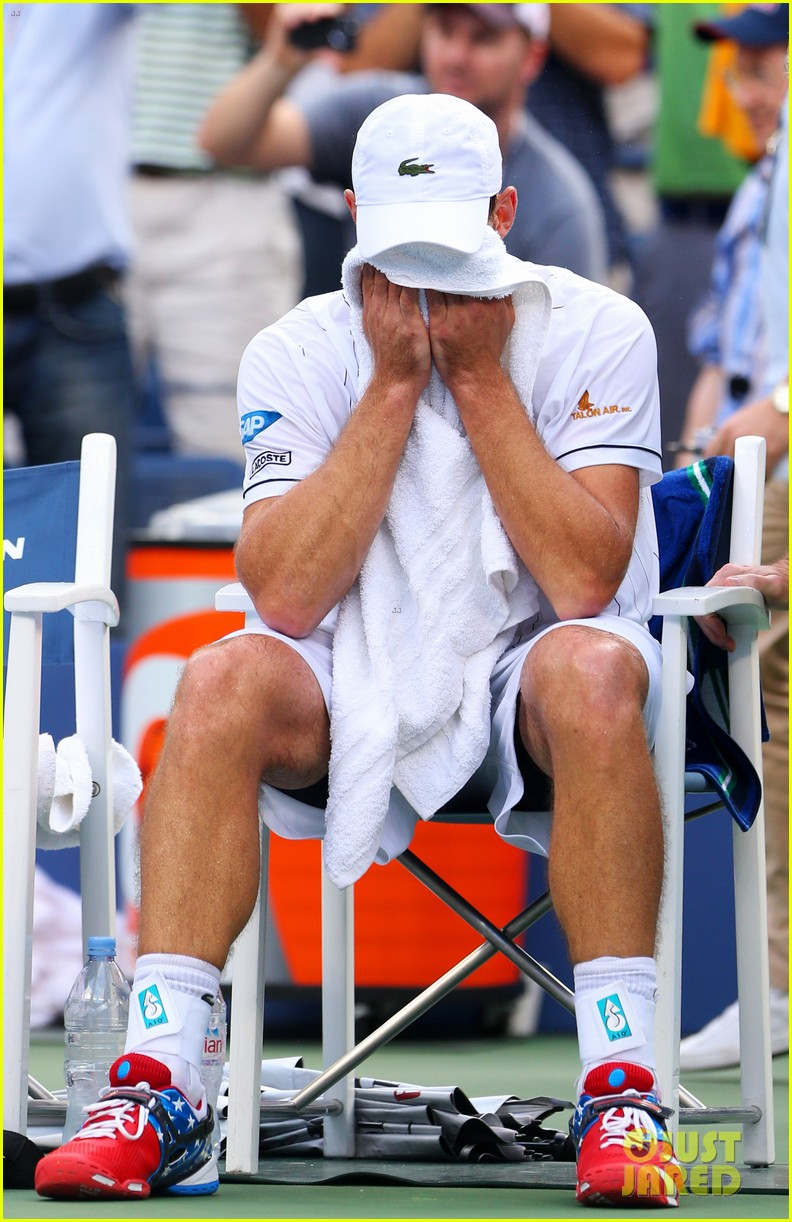 andy roddick plays final tennis match brooklyn decker cries 052714612