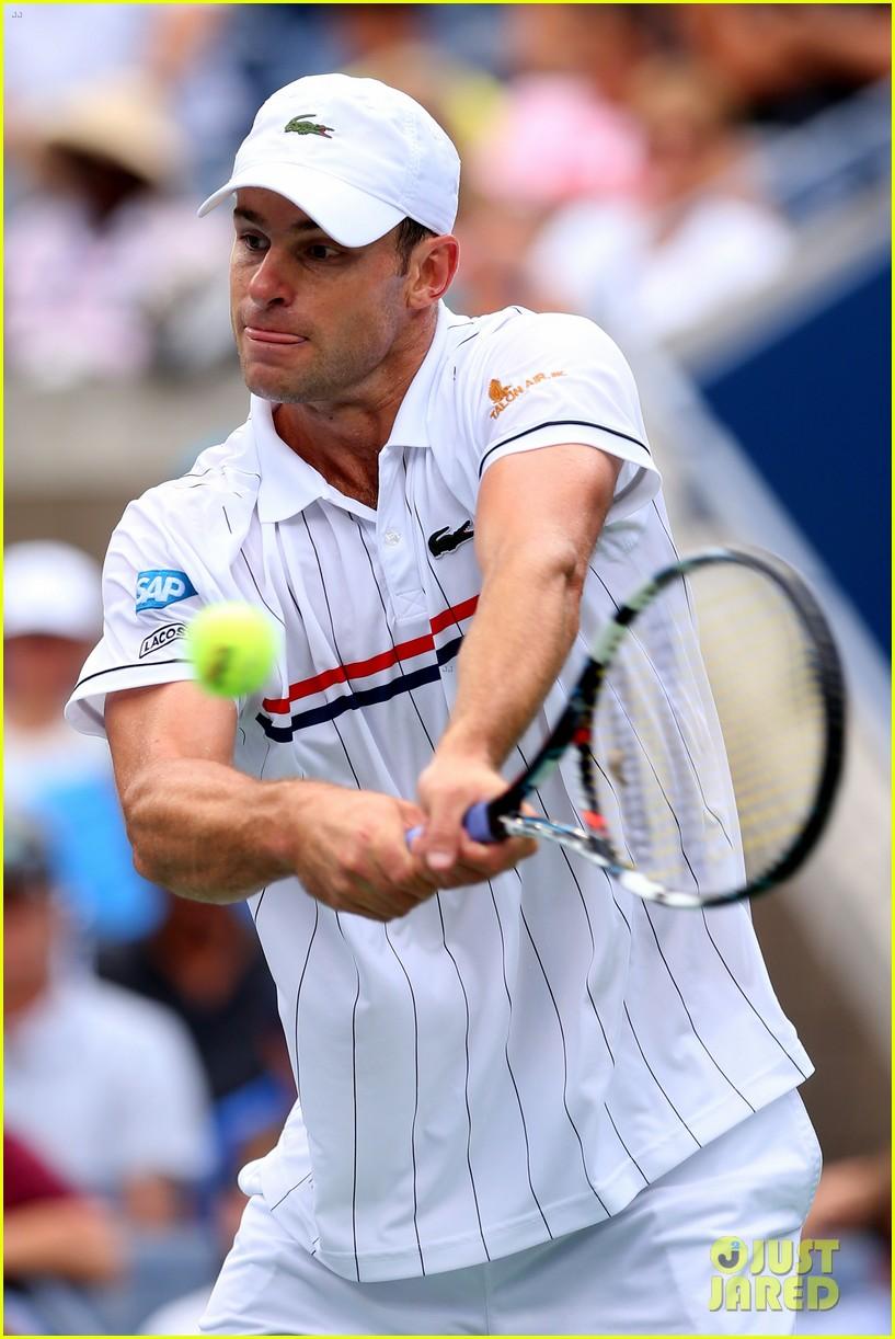 andy roddick plays final tennis match brooklyn decker cries 14